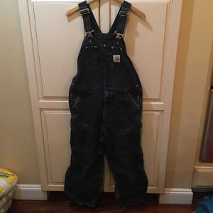 Vintage 90s do Distressed carhartt overalls s